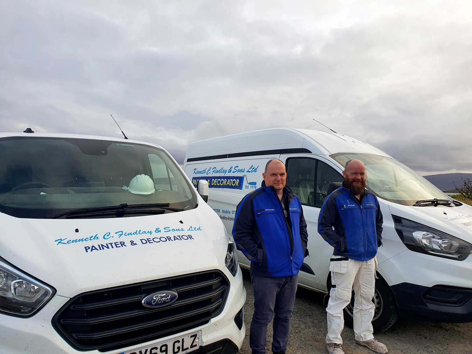The Findlay Brothers in Orkney